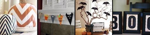 Halloween decorations row 4